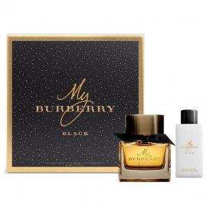 Set Apa De Parfum Burberry My Burberry Black, Femei, 50ml