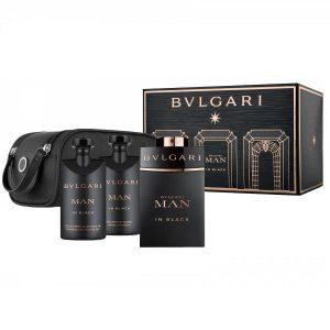 Set Apa De Parfum Bvlgari Man In Black , Barbati, 100ml