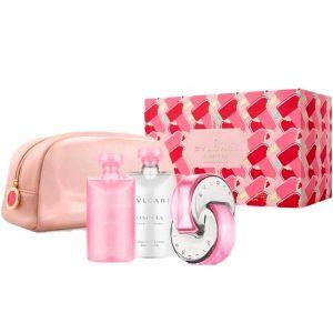Set Apa De Toaleta Bvlgari Omnia Pink Sapphire, Femei, 65ml