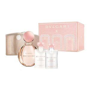 Set Apa De Parfum Bvlgari Rose Goldea , Femei, 90ml