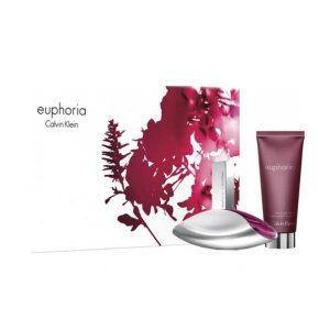 Set Apa De Parfum Calvin Klein Euphoria, Femei, 50ml