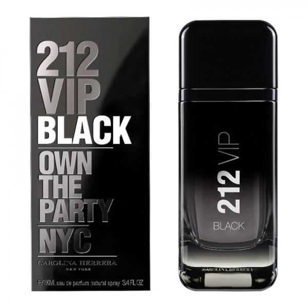 Apa De Parfum Carolina Herrera 212 Vip Black, Barbati, 100ml