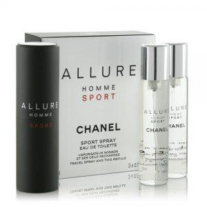 Apa De Toaleta Chanel Allure Homme Sport, Barbati, 3x20ml