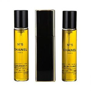 Set Apa De Parfum Chanel No 5, Femei, 3x20ml