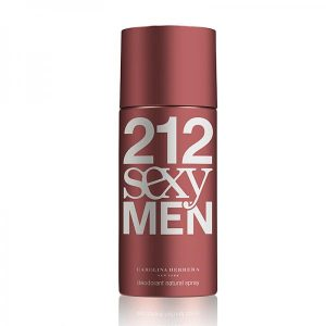 Deodorant Spray Carolina Herrera 212 Sexy , Barbati, 150ml