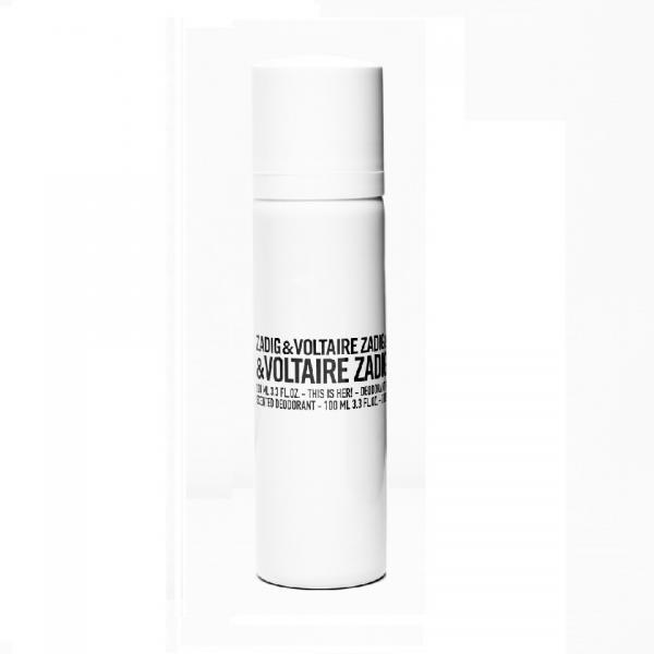 Deodorant Spray Zadig & Voltaire This Is Her!, Femei, 100ml