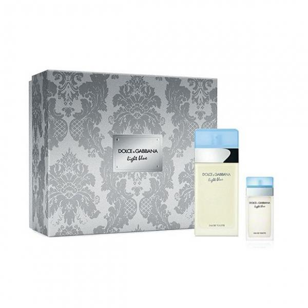 Set Apa De Toaleta Dolce & Gabbana Light Blue, Femei, 100ml