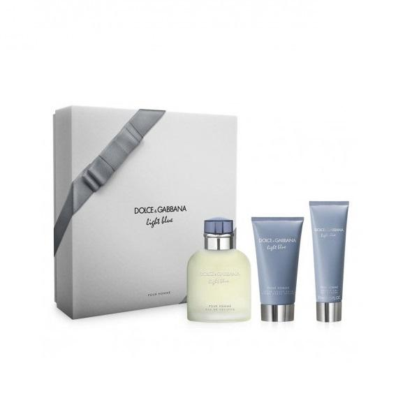 Set Apa de Toaleta Dolce & Gabbana Light Blue, Barbati, 125ml