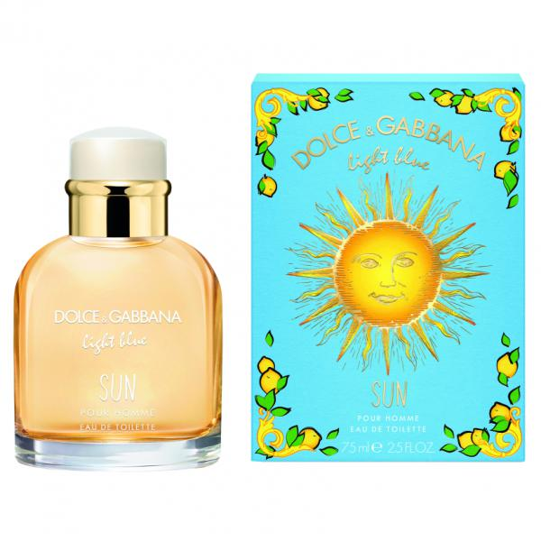 Apa De Toaleta Dolce & Gabbana Light Blue Sun, Barbati, 75ml