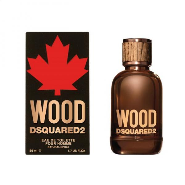 Apa De Toaleta Dsquared Wood, Barbati, 50ml