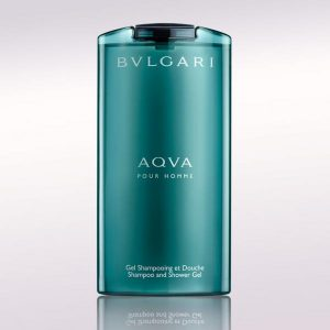 Gel de dus Bvlgari Aqua, Barbati, 200ml