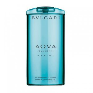 Gel de dus Bvlgari Aqua Marine, Barbati, 200ml
