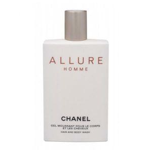 Gel de dus Chanel Allure, Barbati, 200ml
