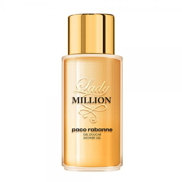 Gel de dus Paco Rabanne Lady Million, Femei, 200ml