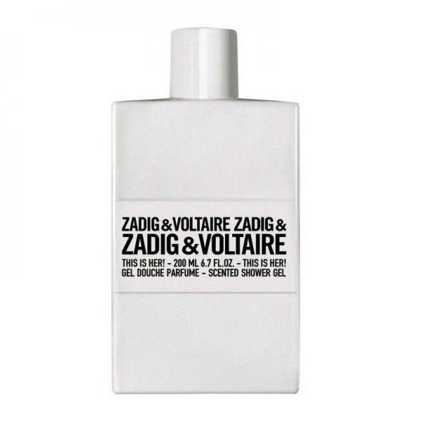 Gel de dus Zadig & Voltaire This Is Her! , Femei, 200ml