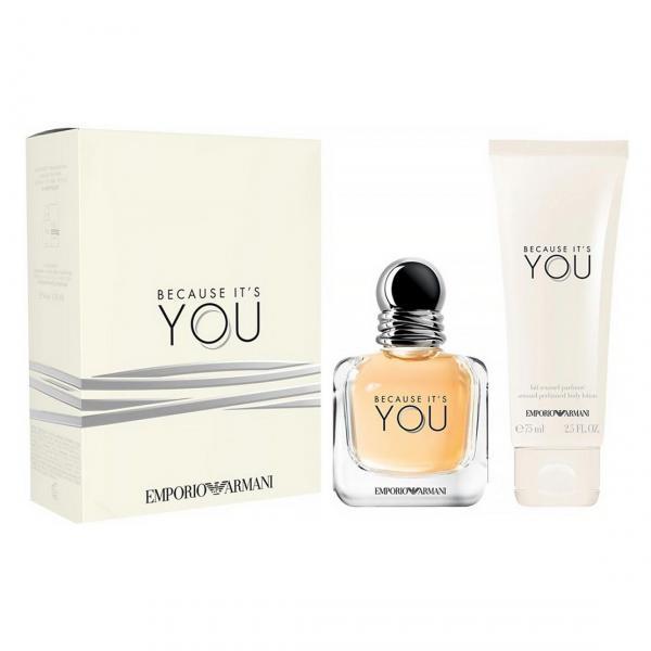 Set Apa de Parfum Giorgio Armani Because It's You , Femei, 50ml