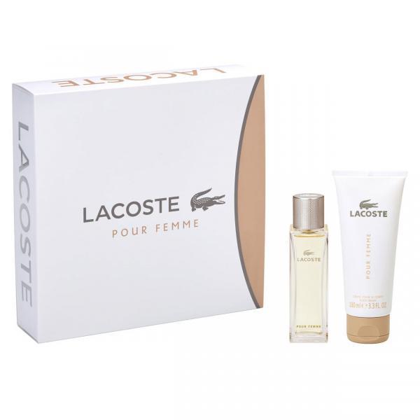 Set Apa De Parfum Lacoste Pour Femme, Femei, 50ml