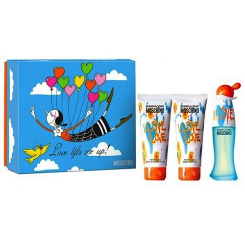 Set Apa De Toaleta Moschino I Love Love, Femei, 50ml