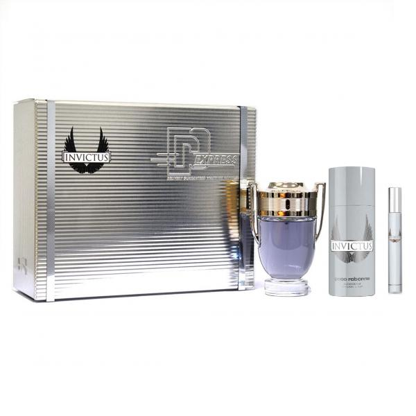 Set Apa de Toaleta Paco Rabanne Invictus , Barbati, 100ml