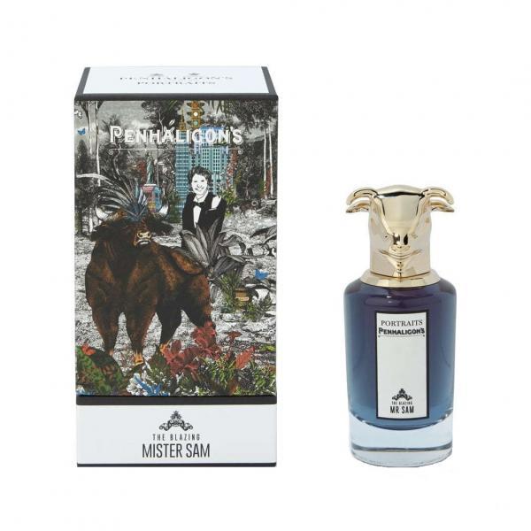 Apa De Parfum Penhaligons The Blazing Mister Sam , Barbati, 75ml