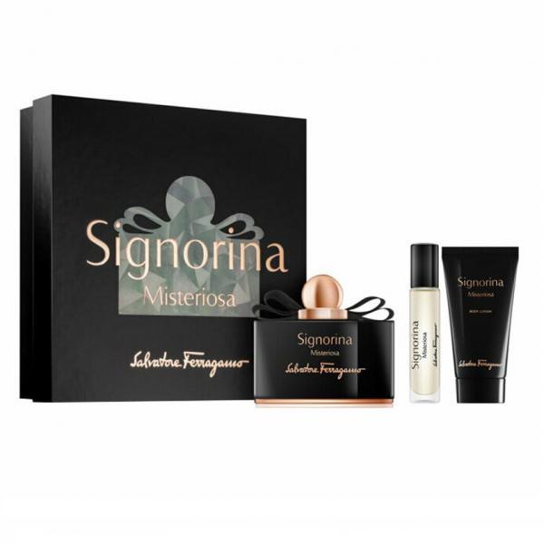 Set Apa de Parfum Salvatore Ferragamo Signorina Misteriosa, Femei, 100ml