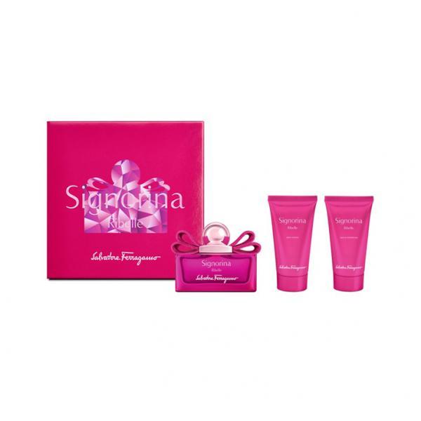 Set Apa De Parfum Salvatore Ferragamo Signorina Ribelle, Femei, 50ml