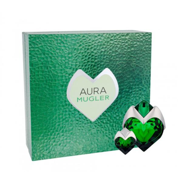 Set Apa De Parfum Thierry Mugler Aura, Femei, 50ml