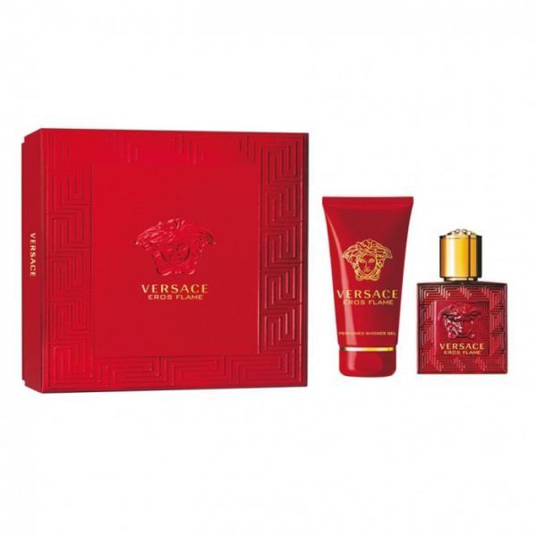 Set Apa de Parfum Versace Eros Flame, Barbati, 30ml